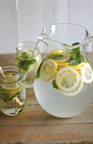 Hydrating Lemon Mint Fusion Recipe