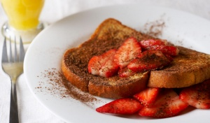 Vanilla-Cinnamon Rye French Toast Recipe