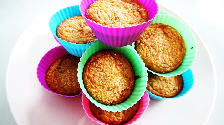 Vanilla protein cupcakes