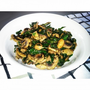 Coriander-Dill Mushrooms