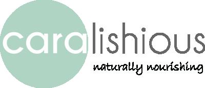 Caralishious Logo Dark Naturally Nourishing