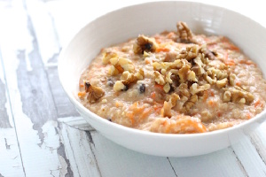 Coconutty Carrotcake Oatmeal