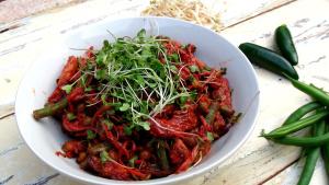Pink Thai Stir Fry