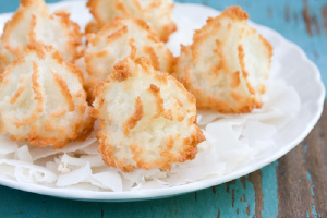Zesty  Coconut Macaroon Cookies