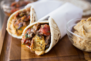 Middle Eastern Chicken Cauli- Wrap