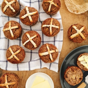 Low Carb Paleo Hot Cross Buns