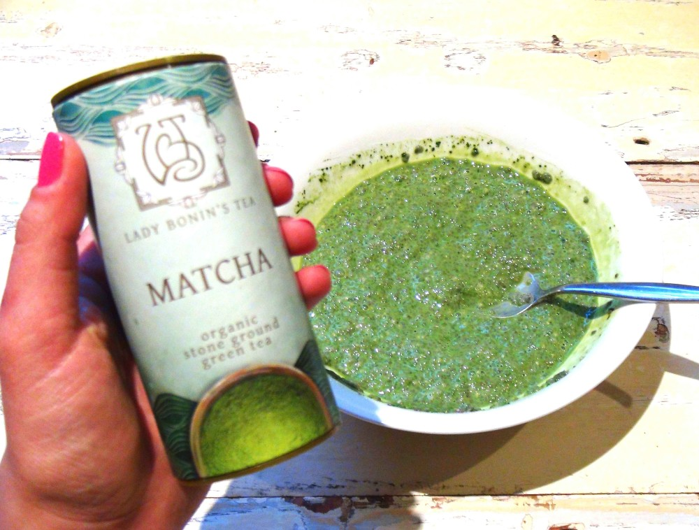Anti-Oxidant Rich Matcha Chia Pudding