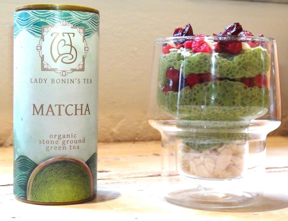 Anti-Oxidant Rich Matcha Chia Pudding 5