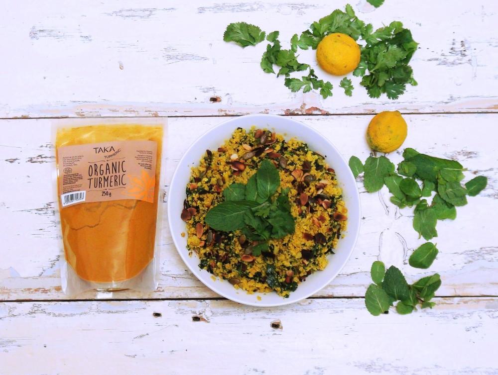 Turmeric and Tamari Cauliflower rice 3