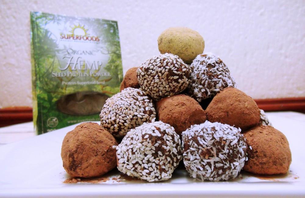 Nutty Hemp Protein Balls 2