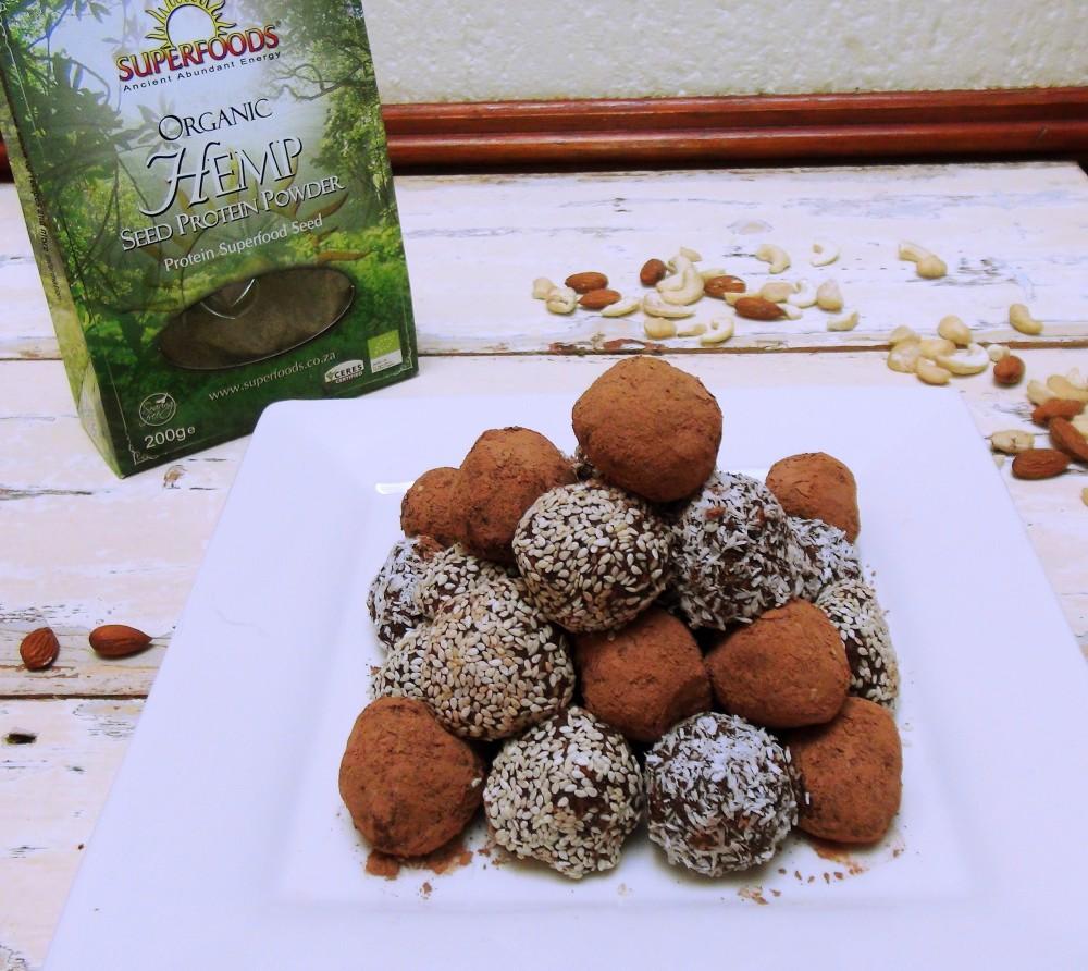 Nutty Hemp Protein Balls 3