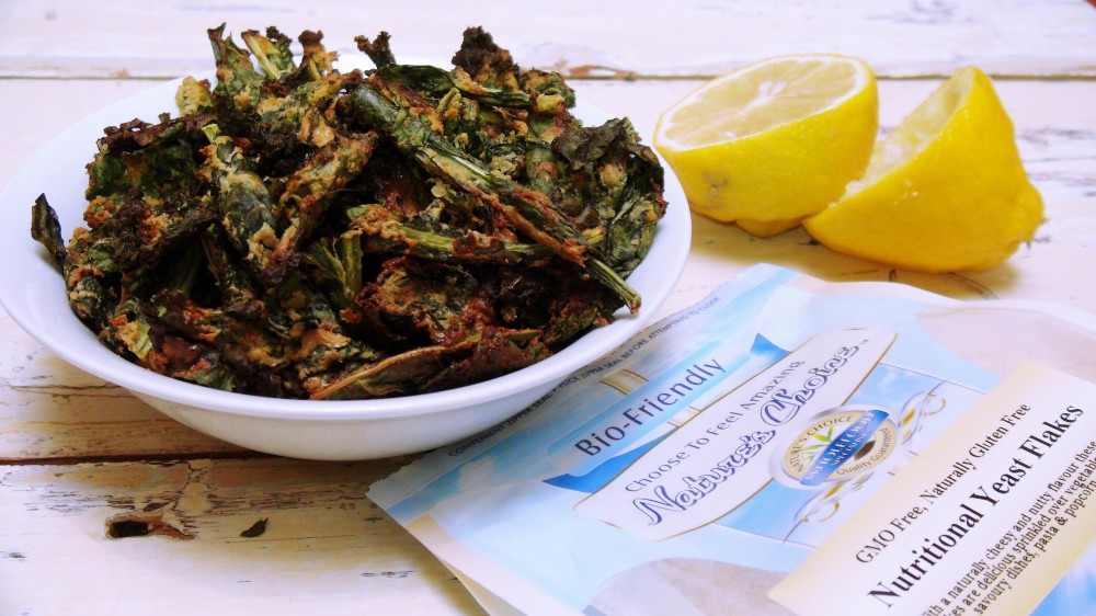 Cheesy Vegan Kale Chips 2