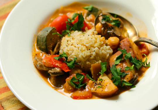 Hearty Vegetable Curry 2