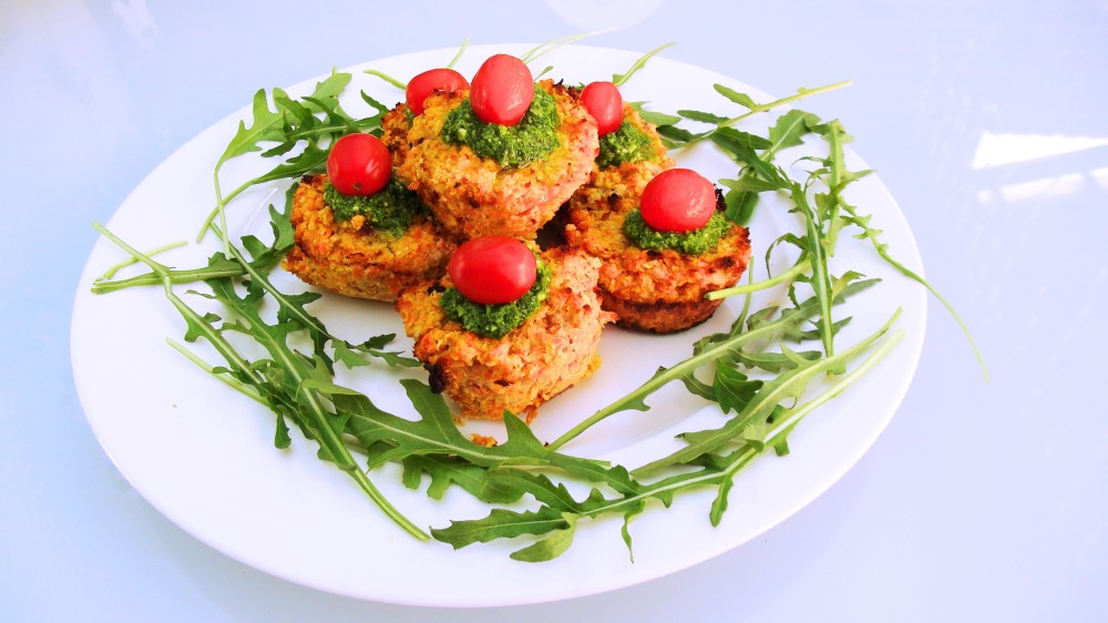 CAuli carrot muffins 2