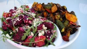 Beetroot and Roast Veg Salad 1