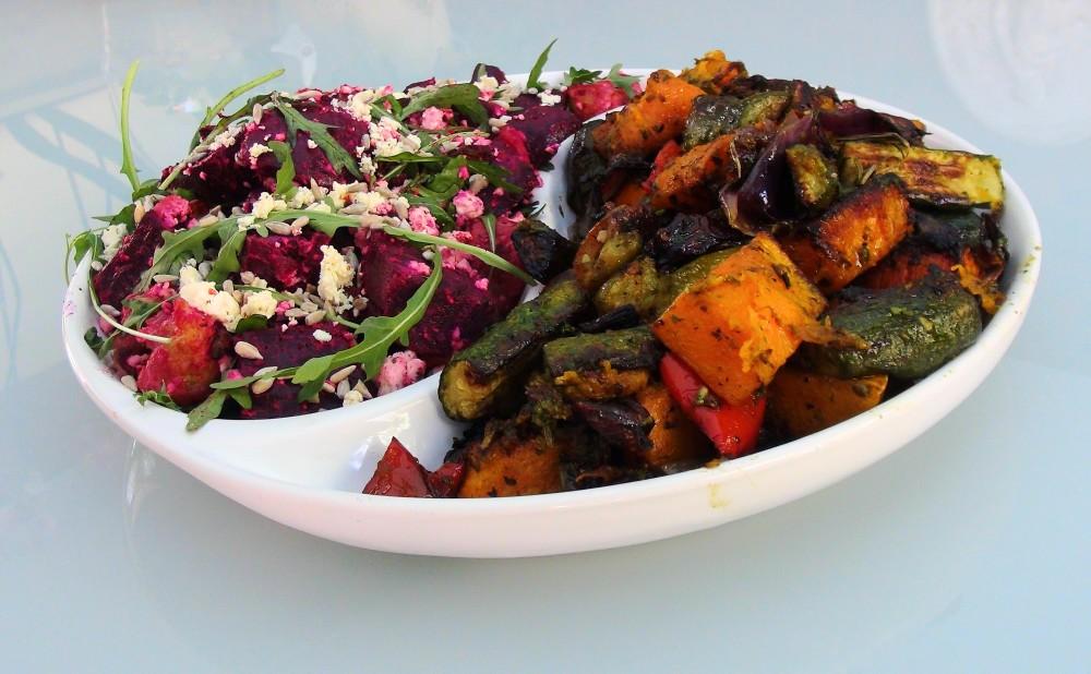 Beetroot and Roast Veg Salad 2