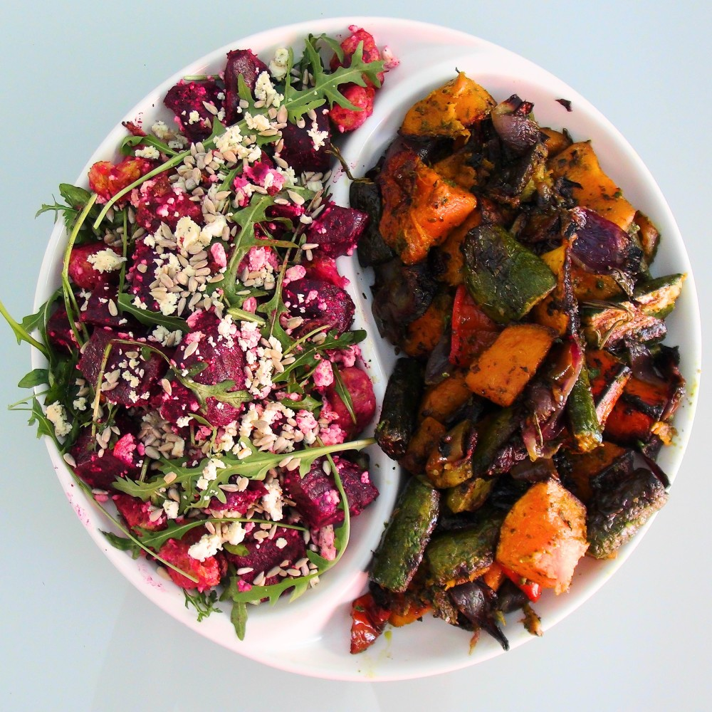 beetroot and Roast Veg Salad 3