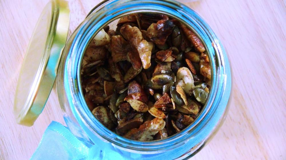 Cinnamon Spiced Low Carb Breakfast Muesli 3