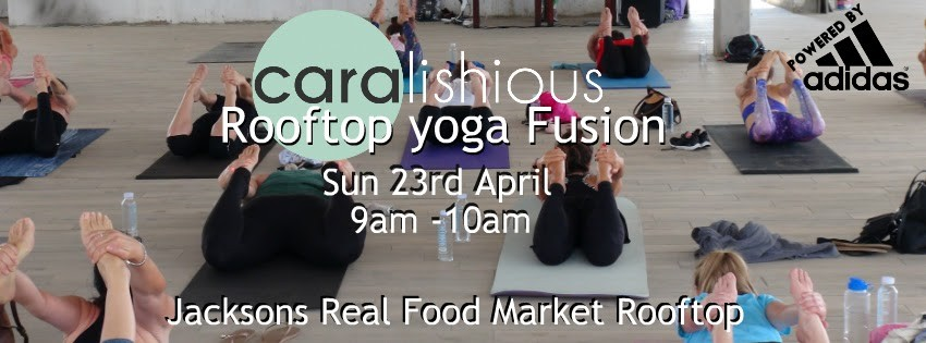 Rooftop Yoga event April 23rd