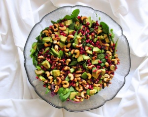 pomegranate salad 2