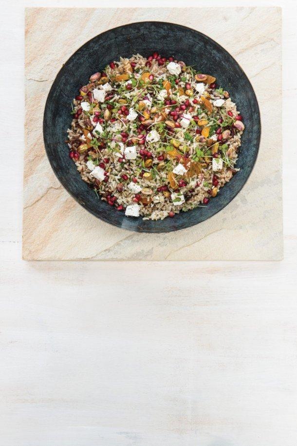 Fruity Wild Rice Salad
