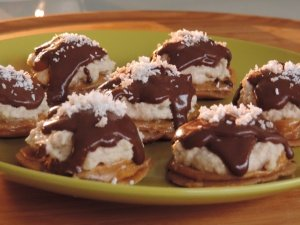 Chocolate Cookie-Dough Smores Recipe