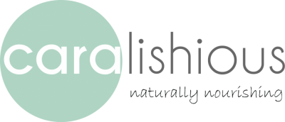 Caralishious Logo Dark Naturally Nourishing