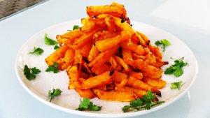 Cinnamon Spiced Butternut Chips