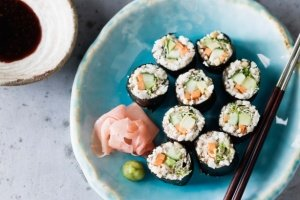 Low Carb Vegan Sushi Rolls