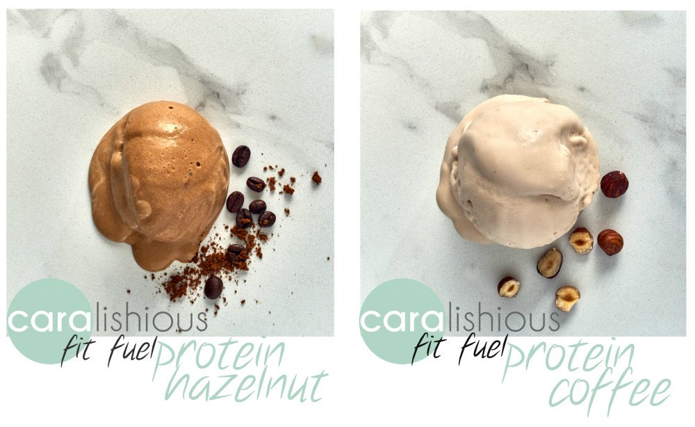 Caralishious Fit Fuel Vegan Protein Ice Cream Flavours