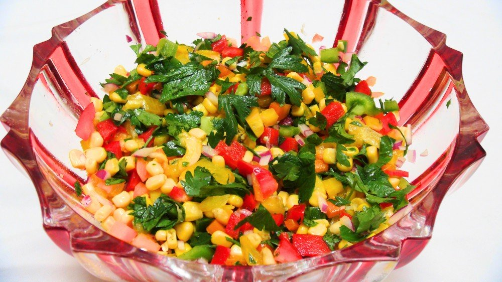 Colourful Mexican Salad 1