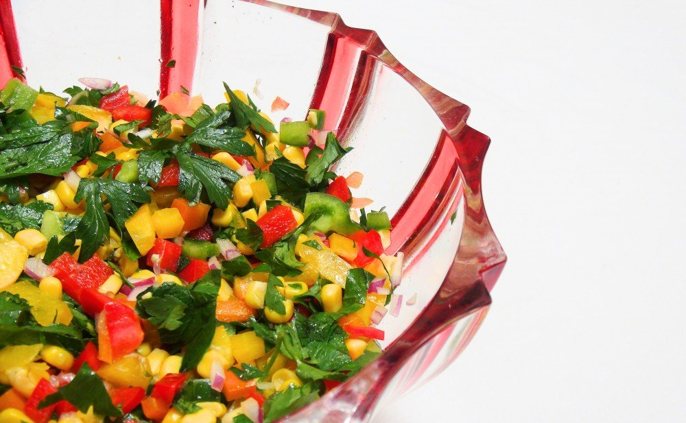 Colourful Mexican Salad 3