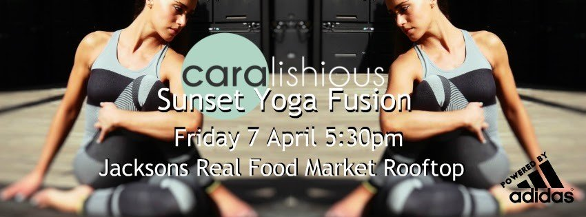 Sunset Yoga event