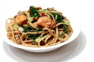 Basil-Fresh Brown Rice Linguine