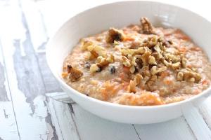 Coconutty Carrotcake Oatmeal