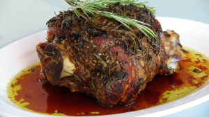 Rosemary Scented Lamb Roast