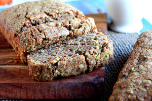 High Protein Quinoa Loaf with Macadamia Spread & Strawberries