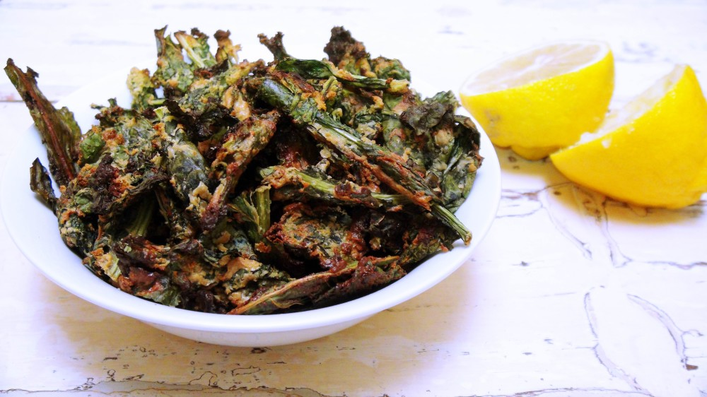 Cheesy Vegan Kale Chips   Caralishious