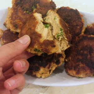 Low Carb Teriyaki Salmon Fish Cakes 1